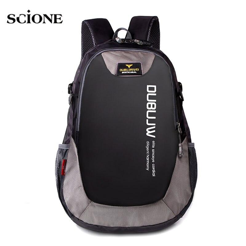 35L Foldable Waterproof Travel Backpack Laptop Multifunction Outdoor School Bags