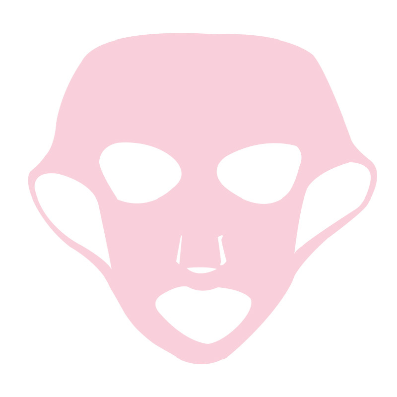 1pcs Reusable Silicone Face Mask Cover for Sheet Mask Ear Fixed Prevent Essence Evaporating Hydration Moisturizing Mask Beauty image