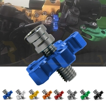 NEW Motorcycle CNC Aluminum Clutch Cable Wire Adjuster For SUZUKI GSXR 600 K6 750 1000 GSXR1000 YZF R1 R6 Tmax 500 530