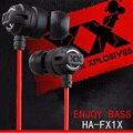 Xedain x6 fones de ouvido bom xtremed xplosives ha-fx1x fone de ouvido estéreo de fone de ouvido graves profundos fones de ouvido para iphone samsung mp3 mp4 pc