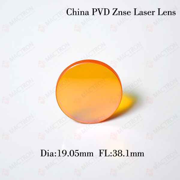CO2 Laser Cutting Engraving Optical Laser Focus Lens (Chinese Znse Material, Dia 19.05MM,FL 38.1MM) high quality usa znse co2 laser lens 20mm dia focal 63 5mm focus length for laser engraving cutting machine