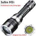 MS1 buceo linterna 18650 luz antorcha poderoso Cree LED XM-L2 bajo el agua linterna impermeable de buceo lámpara lanterna