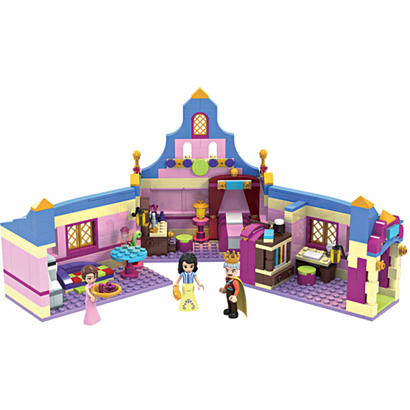 Princess Series Snow White of Bedroom Building Blocks Sets Bricks Friends Model Kids Classic Movie Girl Toys Compatible Legoings