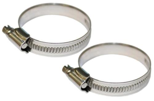 Quality Stainless Steel Anti-Rust Hose Clips Fuel Flex Pipe Clamps Worm Drive