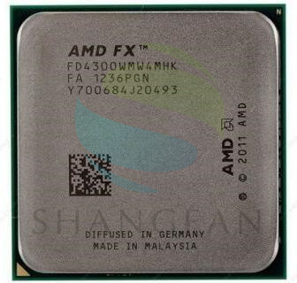 AMD FX-series FX4300 3.8GHz Quad-Core CPU Processor FX 4300 FD4300WMW4MHK 95W Socket AM3+