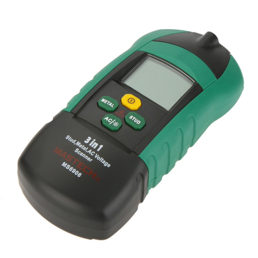 MASTECH MS6906  Multifunction AC Voltage Scanner Detector Tester Thickness Gauge + metal detector + Wood detector positioning  цены