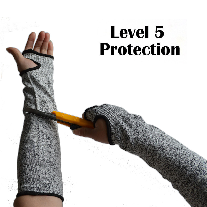 1 Pc Safety Cut Resistant Sleeves Arm Guard Protection Armband Gloves Workplace Safety Protection Safety Gloves Anti Cut 5 Level