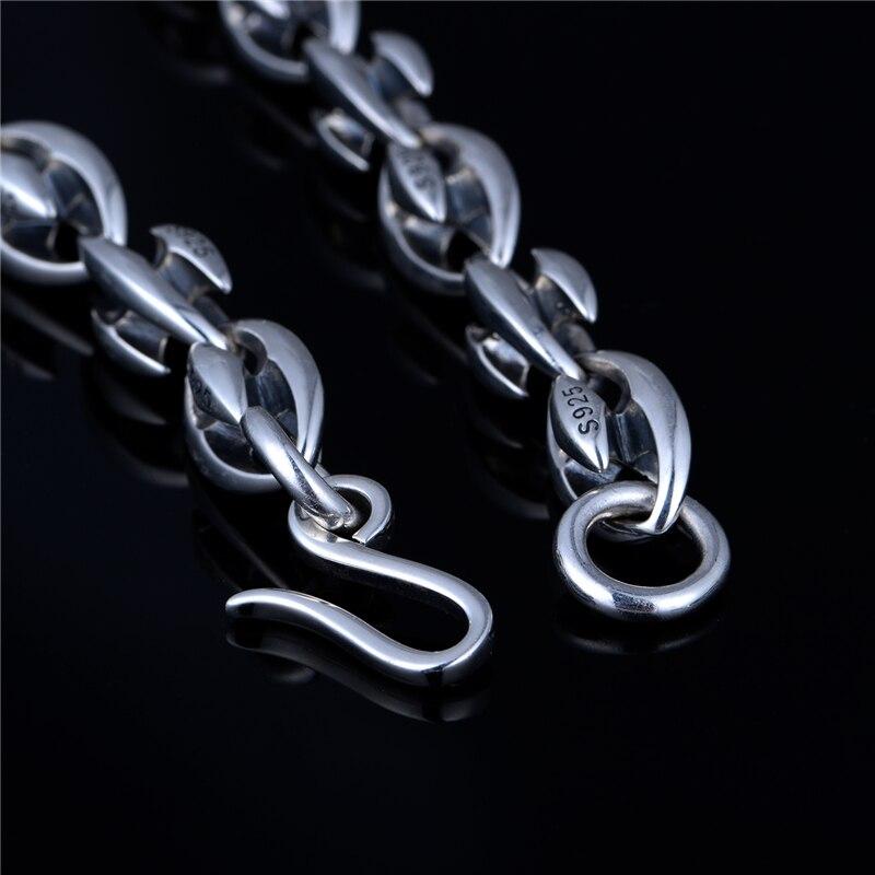 Mode marke halskette 925 Sterling Silber halskette anhänger schmuck, die DIY zubehör passt marke anhänger charme XLT001H20 - 2