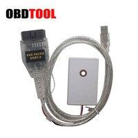 ObdTooL VAG Tacho Pro 5.0 USB OBD2 ECU Tuning Chip Ferramenta OBDII Diagnóstico Cabo Para NEC MCU 24C32 Ou 24C64 Vagtacho V5.0 JC10