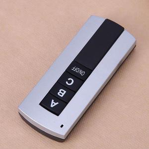Image 4 - 3 maneiras de ligar/desligar controle remoto digital sem fio 220v 3 canais interruptor controle remoto digital sem fio para lâmpada luz exaustão fã
