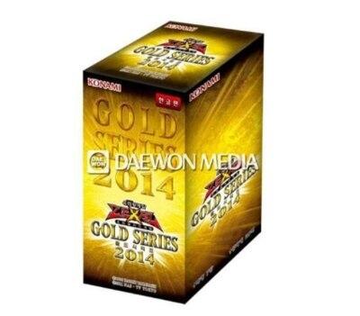 Yu Gi Oh Original YU GI OH Whole Package New Card Package Original Box 2014 Gold Package Korean