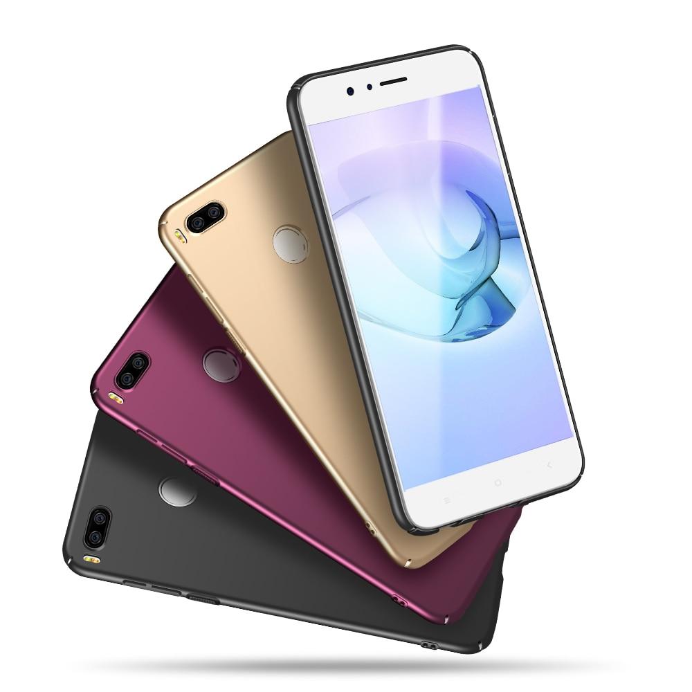 Pour Fundas Xiaomi Mi A1 4 GB 64 GB Mobile Téléphone Couverture Arrière cas X-Niveau Pour Coque Xiaomi Mi Un 1 Dur PC Couverture