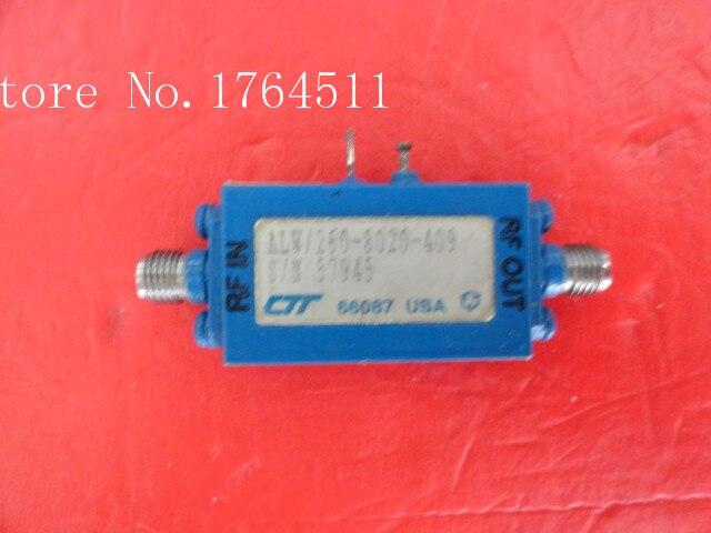 [BELLA] CTT ALW/260-8020-409 10-26GHZ 24DB 12V Supply Amplifier SMA