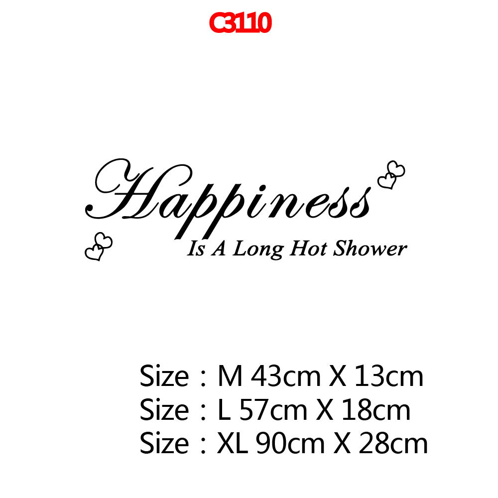 Fun Happiness Hot Shower Wall Art Decal Wall Stickers Material For Baby Kids Rooms Decor Diy Home Decoration adesivo de parede in Wall Stickers from Home Garden