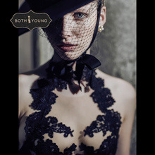 Bothoyung 2019 여성을위한 새로운 섹시한 란제리 레이스 수 놓은 숙녀 bralette 속옷 섹시한 푸시 업 브래지어 세트