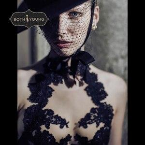 Image 1 - Bothoyung 2019 여성을위한 새로운 섹시한 란제리 레이스 수 놓은 숙녀 bralette 속옷 섹시한 푸시 업 브래지어 세트