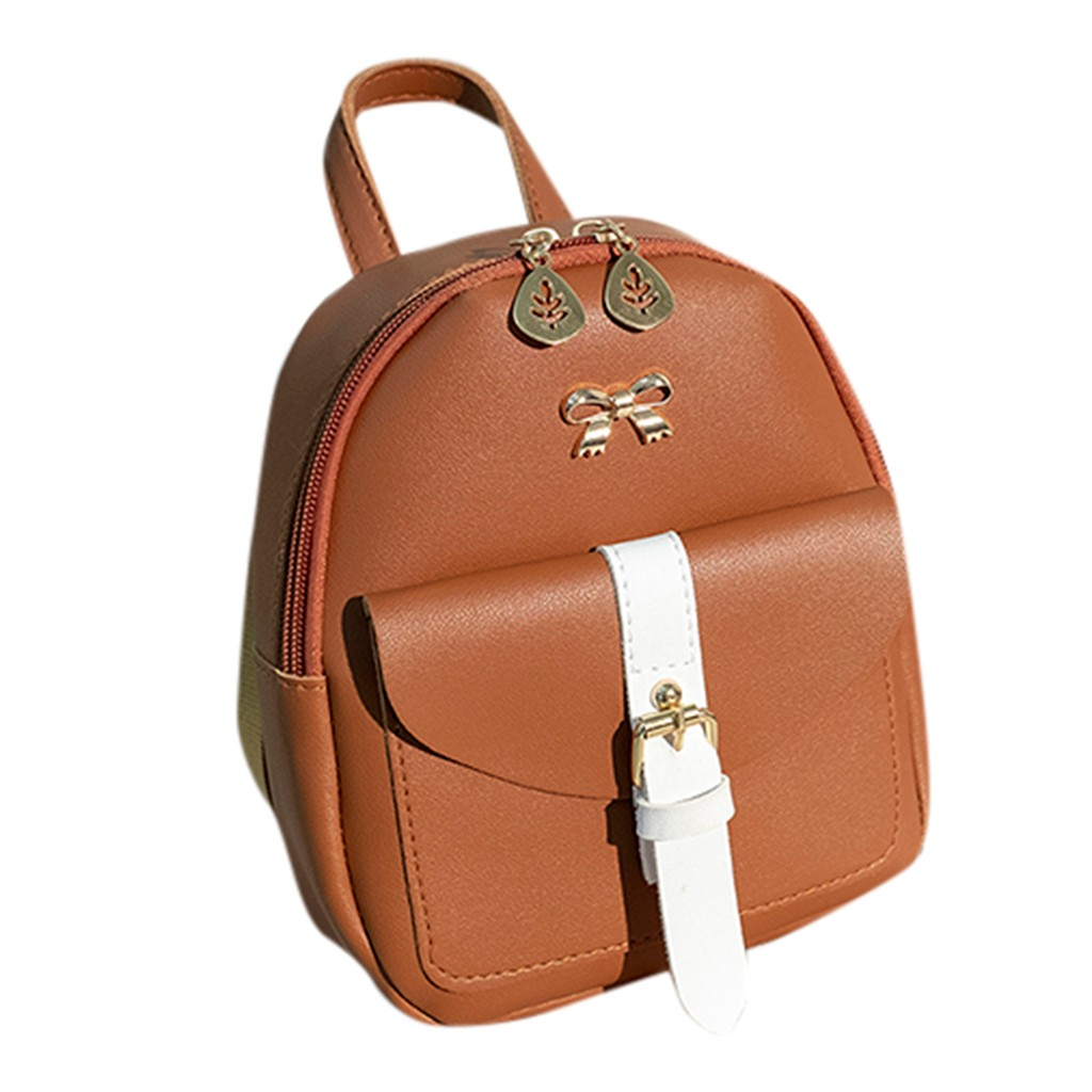 HTB1CPmkNgHqK1RjSZJnq6zNLpXat Convenient fashion Travel Fashion Lady Shoulders Small Backpack Letter Purse Mobile Phone mochilas Canta