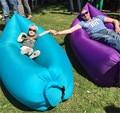 (Envíe por UPS,, muy rápido) sofá inflable 210 T poliester tela Oxford cama perezoso ocio al aire libre cama de aire saco de dormir