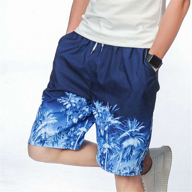 b9a68a3448 PUJUNLIN New arrive Mens Shorts Surf Board Shorts Summer Sport Beach Homme  Bermuda Short Pants Quick Dry Silver Boardshorts 2017
