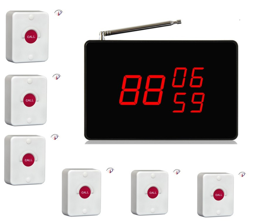 Free shiping! Elevator of building site calling system, waterproof call button, prompt with voice and music screen receiver