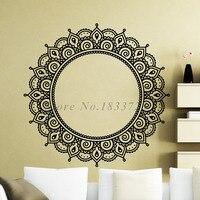 Mandalas de Indian Religiosa Adesivos de Parede arte PVC Flor Adesivos de Parede Adesivo Removível de Alta Qualidade