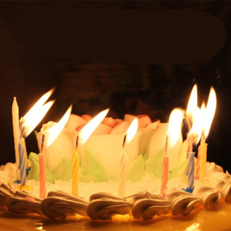 10 Magic Relighting Birthday Candles Sale 21311 53098d