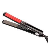 Professional Hair Straightener LCD Display Titanium Ceramic Plates Flat Iron Straightening Irons Fast Heating Styling Tools
