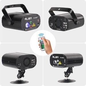 Image 4 - ALIEN Remote RG Aurora Laser Projector Met RGB LED Water Wave Party Dance DJ Disco Vakantie Bar Kerst Podiumverlichting effect