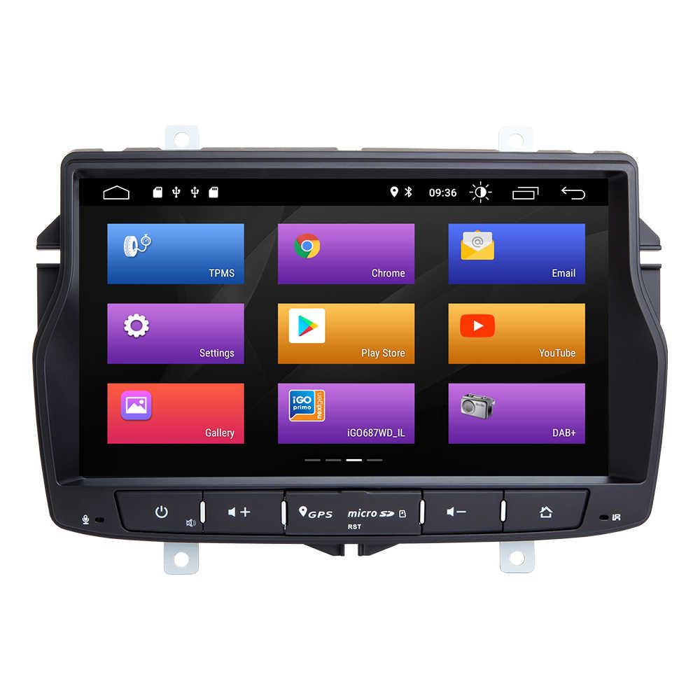 Josmile 2Din アンドロイド 9.0 車のマルチメディアプレーヤー Lada ベスタラジオステレオ GPS ナビゲーションテープレコーダーなし Dvd ヘッドユニット wifi 4 グラム