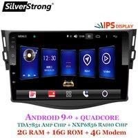 SilverStrong Android9.0 IPS 4G Car GPS for Toyota RAV4 Rav 4 2006 2012 2din 1024*600 gps navigation wifi DSP