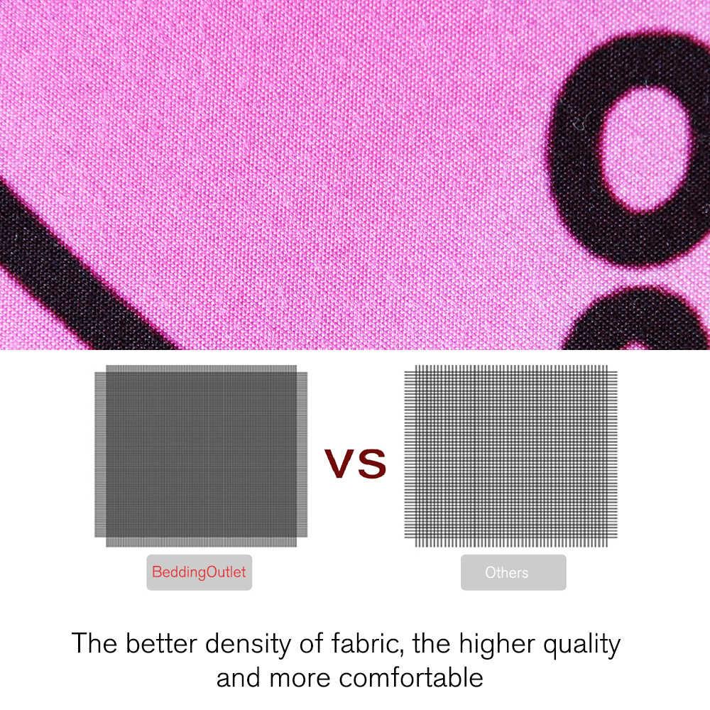 Постельные принадлежности Outlet постельное белье в стиле Мандала набор акварельное одеяло крышка фиолетовый красный розовый комплект постельного белья богемский Цветочная кровать льняная Королева 3 шт.