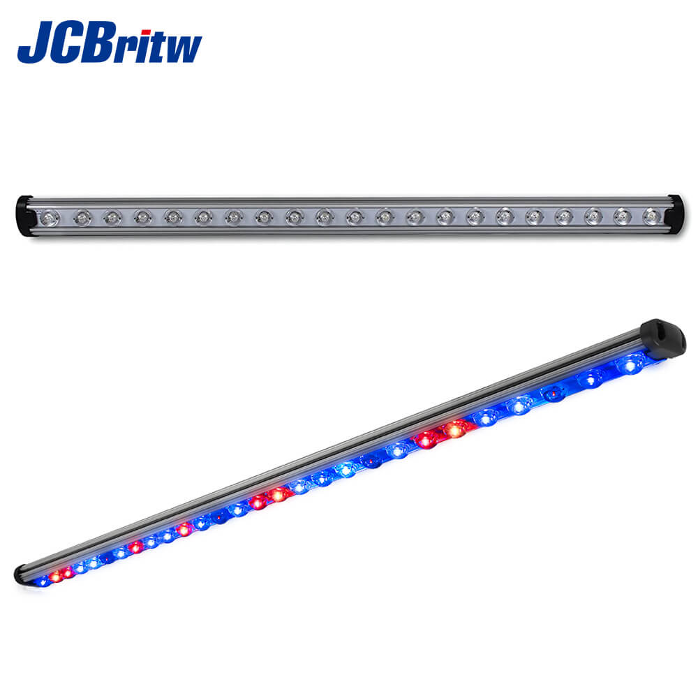 LED Grow Light Bar JCBritw 45W 90cm with Red Blue IR Spectrum Customizable for Indoor Plants Vegetative and Flower Growing|LED Grow Lights| |  - title=