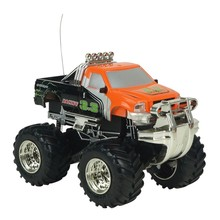 Big Wheel RC Car 2.4G 4CH 4WD Rock Crawlers 4x4 Driving Car Double Motors Drive Bigfoot Toys For kids Boy