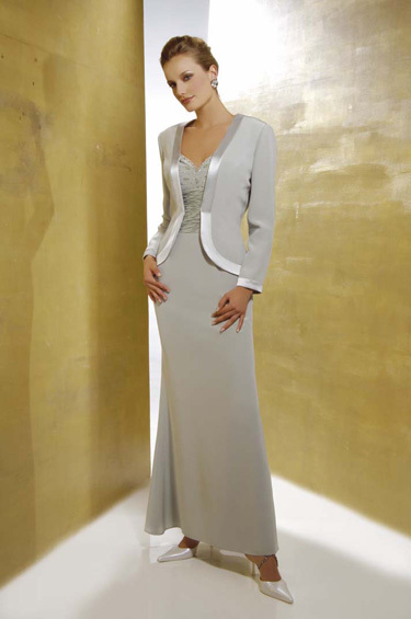 V-neck Chiffon Mother Of The Bridal Dresses With Jacket Luxury Sequined Mother Of The Bride Pant Suits Vestido De Madrinha
