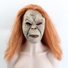 Vampire άγριος άνθρωπος μάσκα ενήλικες φρίκη πλήρης πρόσωπο Latex Απόκριες μάσκα Cosplay μάσκα μάσκα μάσκες μάσκα Δωρεάν αποστολή
