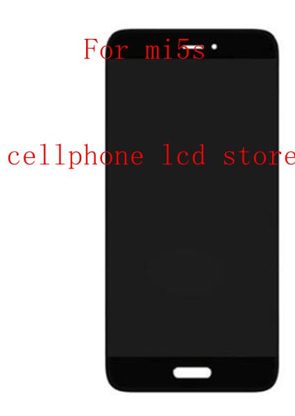 5.15 For xiaomi mi5S xiao mi mi5S Lcd Display Screen+Touch Glass Digitizer Assembly black /White with logo Pantalla