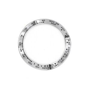 Image 3 - Rolamy 卸売高品質 316L ステンレス鋼シルバー黒文章 38.6 ミリメートル時計用 116500 116520