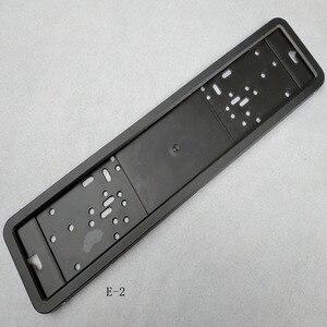 Image 4 - 1pcs Car License Plate Frame metal and Plastic frame Car License Plate Frame Number plate Holder Fit EU