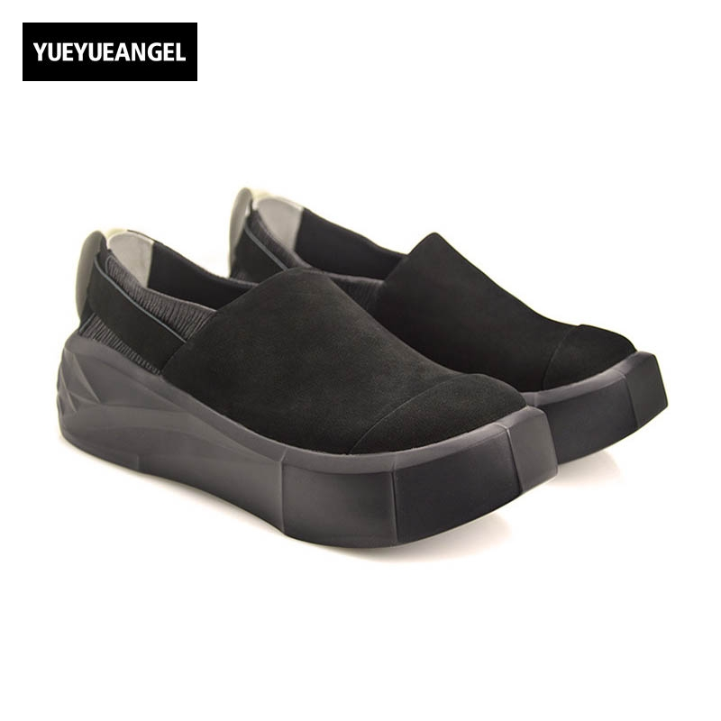 England Style Autumn New Fashion Genuine Leather Cow Men Casual Shoes Slip On Male High Quality Brand Chaussure Plus Size Black 2016 new autumn winter man casual shoes sport male leisure chaussure laced up basket shoes for adults black
