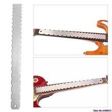 2019 Новый гитары средства ухода за кожей Шеи зубчатый прямой край инструмент для реставрации струнных инструментов для большинства электрогитары лады