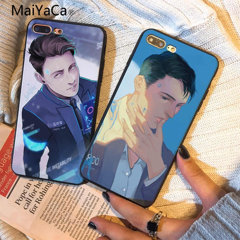 MaiYaCa Aztec Nàng Tiên Cá Vàng Cân Đen mềm Dùng Cho Iphone 8 8 Plus 7 7 Plus 6 6 S 6 6 sPlus 6 6 Plus X XS XR XSMax 5 5S SE