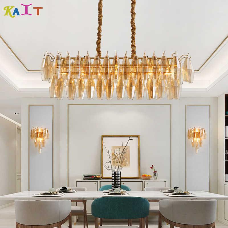 Modern crystal chandeliers Livingroom Bedroom indoor lamp K9 crystal chandeliers ceiling