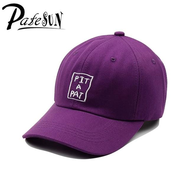 Patesun s Women New Baseball Caps Elegant Dynamic Purple Hat Letters  Embroidery Men s Hat Casual Ladies Girl Caps aee5694d7e0