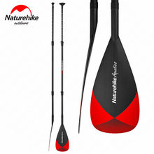 Naturehike SUP remo surf barco Oars Full Carbon Stand Up Paddle Board aleación de aluminio ajustable surf barco Oars NH17J003-B(China)