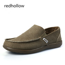 Man Loafers Slip On Soft Driving Shoes Spring Summer Casual Shoes Flat Moccasins Shoes Canvas Men Shoes Breathable Male Footwear