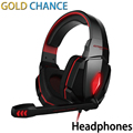 Hot CADA G4000 Estéreo de 3.5mm Luzes LED Gaming Headset Headphone com Microfone para PC Gamer iphone tablet
