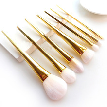 7PCS Professional Makeup Brush Kits Eyebrow Foundation Powder Face Lip Eyeliner Brushes Sets Makeup Cosmetic Brush Tools