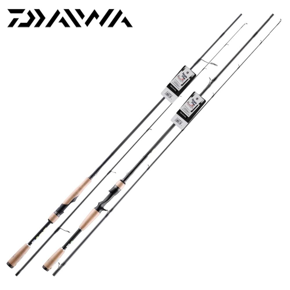 DAIWA Fishing-Rod Spinning Baitcasting TATULA Carbon-Fiber-Stick 6102MB 732MLS X45 SVF
