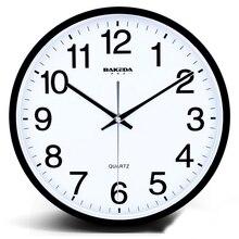 Modern Led Wall Clock Display Temperature Secret Stash Barber Shop Rock n Roll Antique Wall Clock Klok Home Design 2018 50Q078