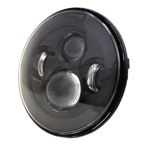 Image 4 - 7 Inch LED Headlight For Harley Motorcycle Tour FLD  Softail Heritage Street Glide Road King Electra Glide for Jeep Wrangler